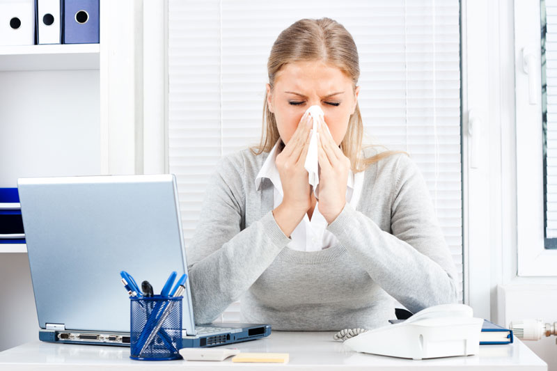 How to Protect Your Office During Flu Season